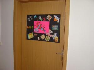 Eingang Unterrichtsräume-Schule