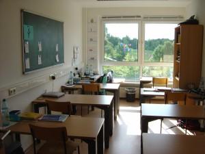 Unterrichtsraum der Wassergruppe